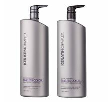 Keratin Complex Color Therapy Timeless Color Shampoo Conditioner 1lt Duo