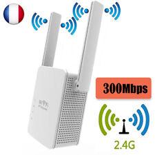 Répéteur WiFi Booster 300Mbps Extenseur sans Fil Amplificateur Signal du Rése