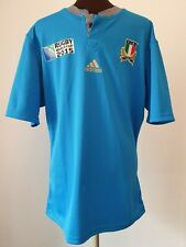 OFFICIAL ADIDAS ITALY 2015 WORLD CUP RUGBY UNION SHIRT SIZE ADULT LARGE
