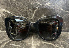 GUCCI Black Cat Eye Ladies Sunglasses GG0327S Made in Italy