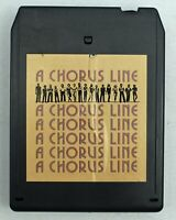 Vintage 8 track tape A Chorus Line Original Cast Recording 1975 Tested D
