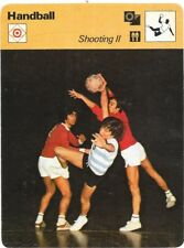 1978 Sportscaster Card Handball Shooting 2 # 29-20 NRMINT/MINT.