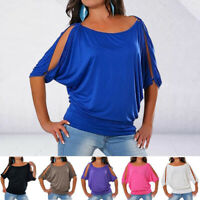 Women Fashion O Neck T-shirt Short Sleeve Tops Summer