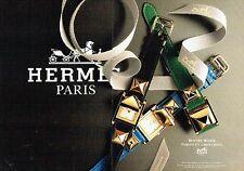 Publicité Advertising  0817  1993  Hermès (2p) montre Médor