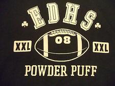POWDER PUFF FOOTBALL KRYS KRYS sweatshirt sz L EUC high school girls