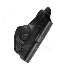 Makarov OWB holster leather, Black