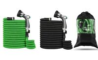 Top Strongest Expandable Garden Hose with Luxury Nozzle + Bag 25ft 50ft 75 100ft
