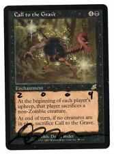 MTG - Call to the Grave x1 - Scourge - NM - *Signed ARTIST PROOF*