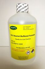 10% Neutral buffered formalin (500 mL) FREE SHIPPING