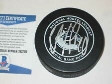 ELIAS PETTERSSON Signed Vancouver CANUCKS Official GAME Puck w/ Beckett COA