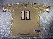 Reebok San Francisco 49ers Alex Smith Alternate Gold Jersey Size XXL
