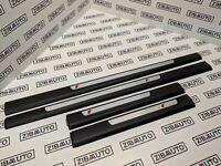 AUDI A6 C6 S-LINE Door Sill Plate Trim Moulding Set GENUINE