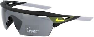 Nike Hyperforce Elite Sport Sunglasses Black Lightweight Frame Max Optics