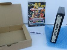 METAL SLUG 1 I NEO GEO MVS NEOGEO ARCADE ORIGINALE SNK BOX KIT SERIAL MATCH