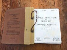 More details for 1966 format monthly coin & medal list .jan 66 - dec 1967 ( binder )
