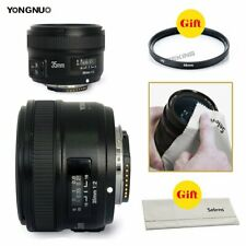 Yongnuo 35mm F/2 Lens 1:2 AF / MF Wide-Angle Auto Lens for Nikon DSLR Camera