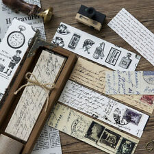 30 PC/lot Creative Gifts Stationery Film Bookmark Cartoon Retro Message Card CA