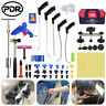 PDR Puller Rods Set Paintless Dent Repair Tools Lifter Slide Hammer Removal Kit