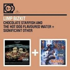 LIMP BIZKIT - 2 FOR 1: CHOCOLATE STARFISH.../SIGNIFICANT OTHER 2 CD NEU
