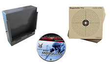 Kugelfangkasten + Zielscheiben für Luftdruckwaffen + Umarex Diabolo Mosquito OVP
