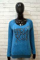 HARD ROCK Donna S Maglione Felpa Maglia Pullover Cotone Sweater Woman Cardigan