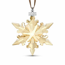 Swarovski 2020 Festive Gold Annual Edition Large Christmas Ornament 5489192