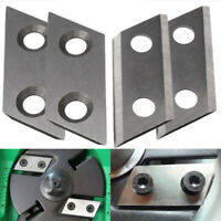 4PCS Metal 30x60mm Garden Shredder Chipper Blade for Eco ES1600 McCulloch