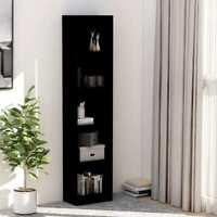 5 Tier Book Shelf Rack Storage Organizer Cabinet Bookcase Display Wood Bookshelf