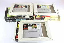 SNES Super Nintendo Football Lot attaquant Kick Off Fifa International Soccer Pal