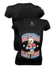 Clinch Gear Hendo Nation Women's Tee. Shirt UFC MMA Hendo Henderson