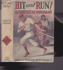 SHERMAN-HIT AND RUN   -IN DUST JACKET