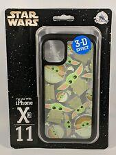 Disney D-Tech The Mandalorian Baby Yoda The Child iPhone 11 Xr Phone Case