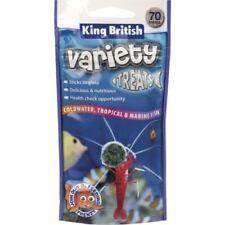 Articles de nourriture King British pour aquarium, bassin et mare pour poisson rouge