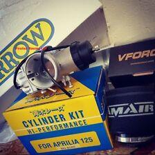 Aprilia RS125 2006-2014 140cc Big Bore Kit, Vforce3, 34mm Carb, Rubber & Exhaust