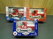 Lot of 3 Gearbox 1912 Ford Tanker Trucks 1:24 Coin Banks Limited Editions