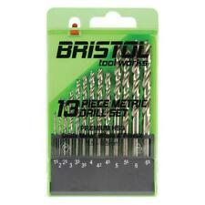 Bristol Tool Works 13 Piece Metric HSS Drill Bits Set by Alpha