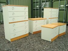More details for stag nocturne bedroom x5 chests mid century stag chests retro stag now £300