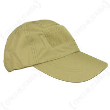 Tactical Baseball Cap - Coyote Sun Peak Hat Army Desert Military Airsoft Soldier