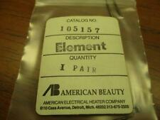 American Beauty 105157 Micro Wire Stripper Element Pair New