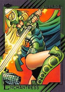 ENCHANTRESS / 2015 Marvel Fleer Retro (Upper Deck) BASE Trading Card #12