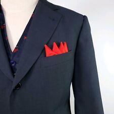 Hugo Boss Wool Suit Jacket Coat Blazer Mens sz 42R Blue Recent Formal Business