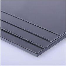 1 pcs ABS Styrene Plastic Flat Sheet Plate 2mm x 200mm x 250mm, Black #EH-4
