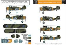 SBS Model 1/48 Gloster Gladiator in Finnish service decal sheet D48008