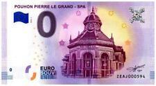 Billet Touristique - 0 Euro - Belgique - Spa - Pouhon Pierre le Grand  (2018-1)