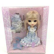 Little Pullip Aquel Doll LP-406 Groove Doll NEW Blonde Blue Dress RETIRED