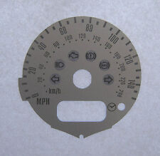 Lockwood BMW Mini Cooper (R50) 2001- 95mm Diam. SILVER Dial Conversion Kit C158