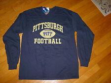 PITT Pittsburgh FOOTBALL PANTHERS long sleeve T-Shirt NWT NEW sz....  SMALL