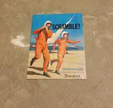 Rare Disneyland SCRAMBLE! Thimble-Drome Power Models Brochure 1959 Cox