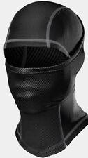 Under Armour Cold Gear Hood Gesichtsmaske Infrarot Kapuze Schwarz Grau Nwt Close Out