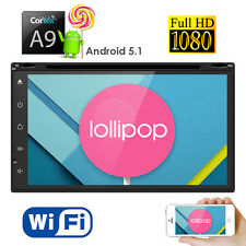 7 inch Double-Din Android 5.1 Car DVD Player Stereo+WIFI GPS 3G Bluetooth Radio